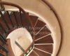 classic spiral staircase